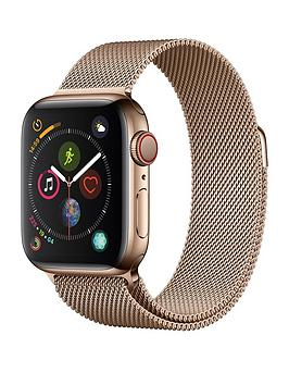 Apple Watch Series 4 (Gps + Cellular), 40Mm Gold Stainless Steel Case With Gold Milanese Loop cheapest retail price