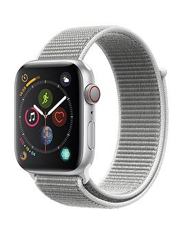 Compare prices with Phone Retailers Comaprison to buy a Apple Watch Series 4 (Gps + Cellular), 44Mm Silver Aluminium Case With Seashell Sport Loop