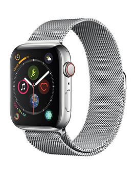Apple Watch Series 4 (Gps + Cellular), 44Mm Stainless Steel Case With Milanese Loop cheapest retail price