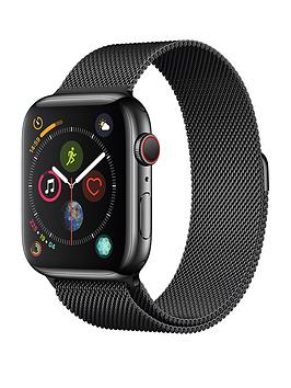 Compare prices with Phone Retailers Comaprison to buy a Apple Watch Series 4 (Gps + Cellular), 44Mm Space Black Stainless Steel Case With Space Black Milanese Loop