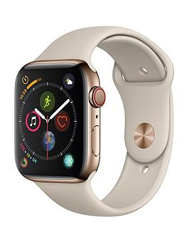 Apple Watch Series 4 (Gps + Cellular), 44Mm Gold Stainless Steel Case With Stone Sport Band cheapest retail price