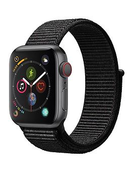 Apple Watch Series 4 (Gps + Cellular), 40Mm Space Grey Aluminium Case With Black Sport Loop cheapest retail price