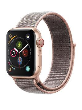 Apple Watch Series 4 (Gps + Cellular), 40Mm Gold Aluminium Case With Pink Sand Sport Loop cheapest retail price