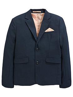 c5599a99e V by Very Pindot Occasionwear Smart Suit Jacket - Navy
