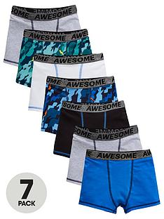 v-by-very-boys-7-pack-camonbspprint-and-plain-trunks-multi