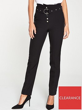 v-by-very-high-waisted-belted-slim-leg-black
