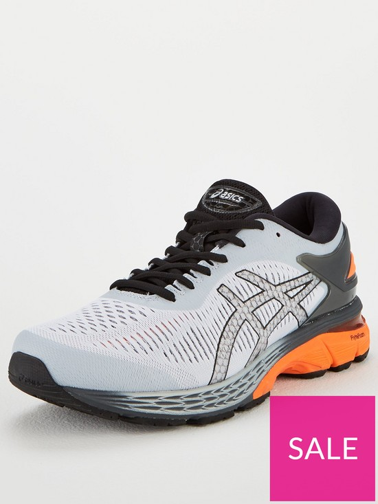 5b6a6af27 Asics Gel-Kayano 25 Trainers - Grey | very.co.uk