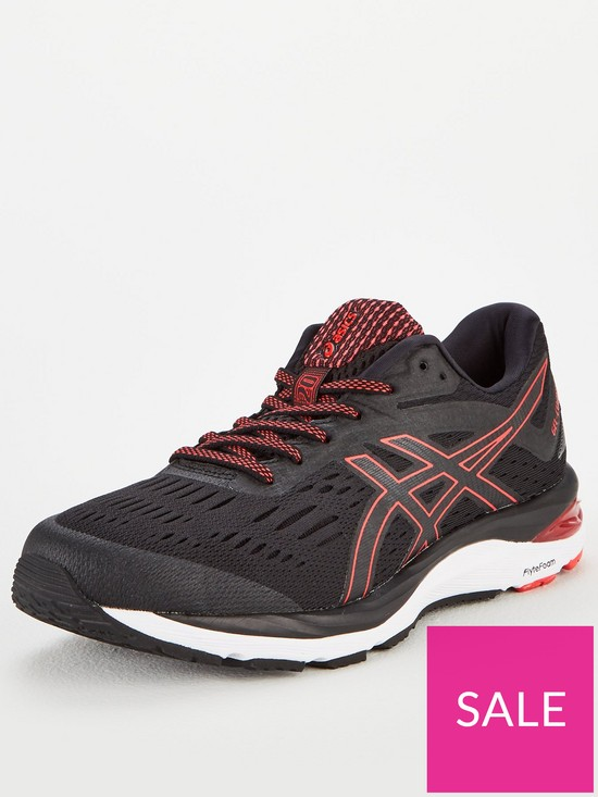 30d2a459c12e0 Asics Gel-Cumulus 20 - Black/Red | very.co.uk