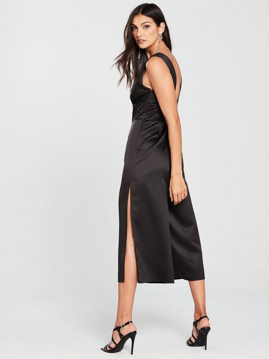 b6b4560f96c ... Miss Selfridge Plunge Cage Jumpsuit - Black. Purchased 5 times in the  last 48 hrs.
