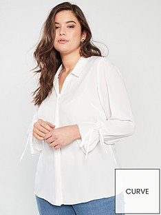 v-by-very-curve-button-through-longline-shirt-ivory