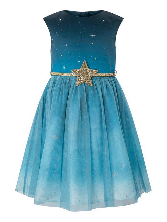 dc0831d23e Monsoon Starry Night Dress | very.co.uk