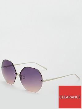 v-by-very-hexagonal-oversized-sunglasses