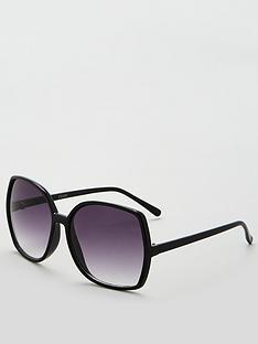 40c2e323b0cb V by Very Oversized Boxy Sunglasses