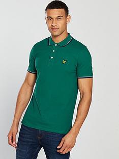 lyle-scott-tipped-polo-shirt-alpine-green