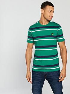 lyle-scott-stripe-t-shirt-alpine-green