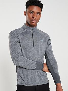 the-north-face-ambition-14-zip-crew-black-heather