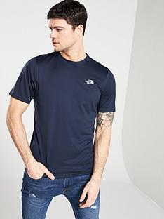 the-north-face-flex-ii-short-sleeve-t-shirt-navy