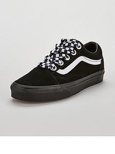 597683ba564e Vans UA Old Skool - Black White