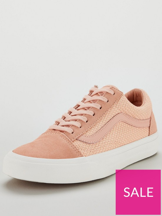 8c7076f4e7 Vans UA Old Skool - Pink/White | very.co.uk