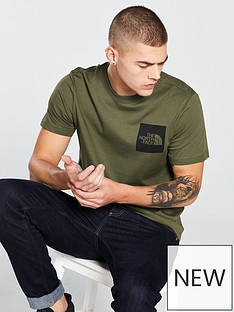 the-north-face-short-sleeve-fine-t-shirt-green