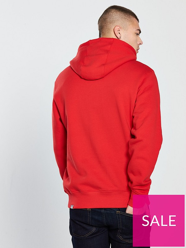 60ec16ee THE NORTH FACE Drew Peak Pullover Hoodie - Red | very.co.uk