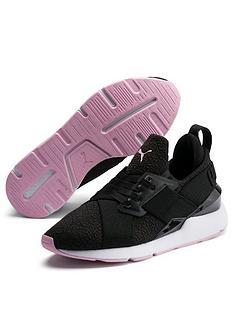 3fd642888805 Puma Muse TZ - Black Pink