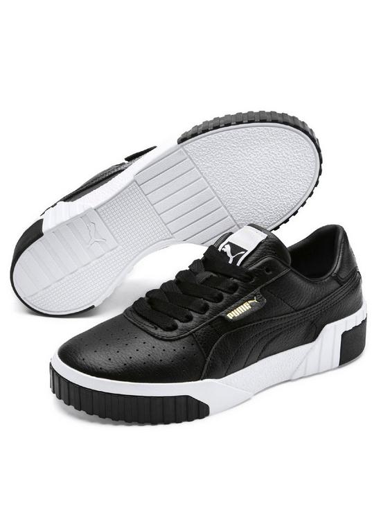97bbeeb13122 Puma Cali - Black White