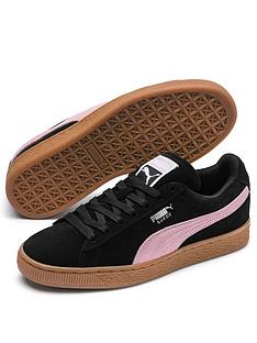 43128d7d04bf Puma Suede Classic - Black Pink