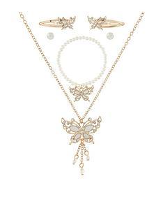 monsoon-girls-mia-pretty-butterfly-jewellery-set