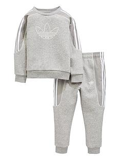 143008404821 adidas Originals Boys Radkin Crew Suit