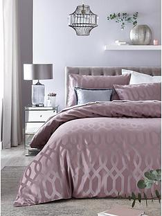 ideal-home-florence-geometric-jacquard-duvet-setnbsp