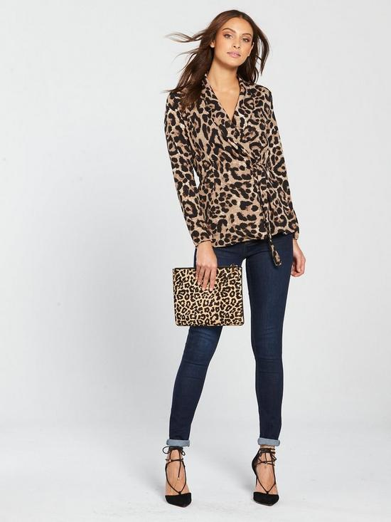 8534bd8b25921 ... AX Paris Animal Print Tie Top - Multi. 6 people have looked at this in  the last couple of hrs.