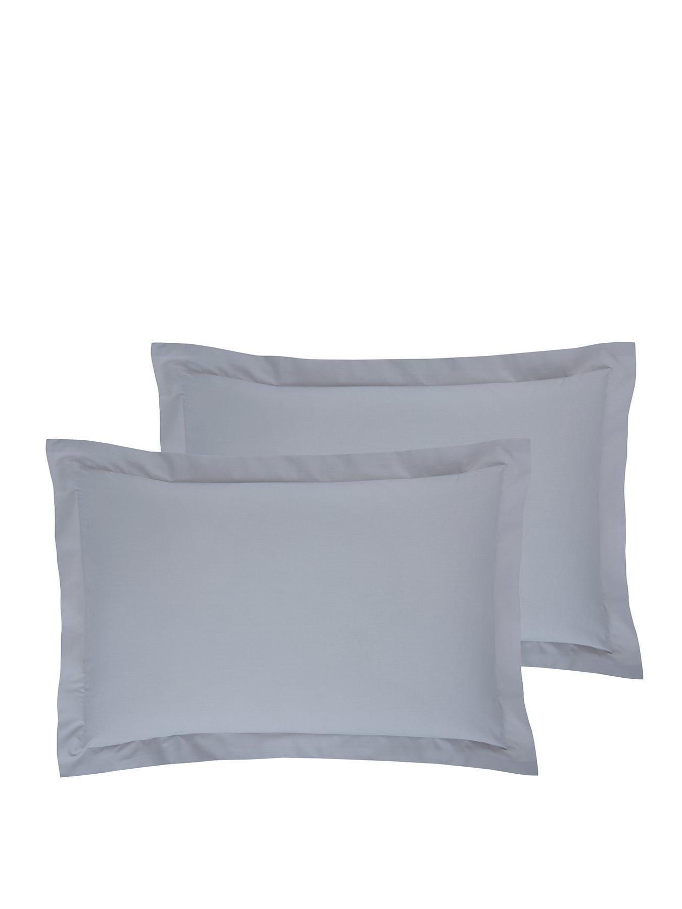 black Everyday Blue Standard Pillowcase