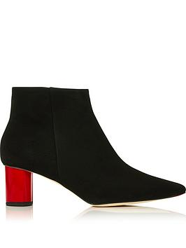 lulu-guinness-patrice-suede-lip-heel-ankle-boots-blackred