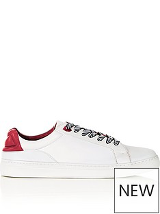 lulu-guinness-natasha-lips-leather-trainers-white