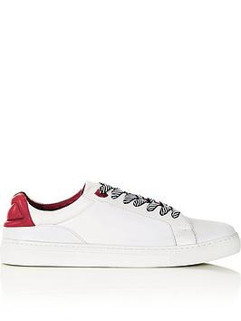 lulu-guinness-natasha-lips-leather-trainers-white