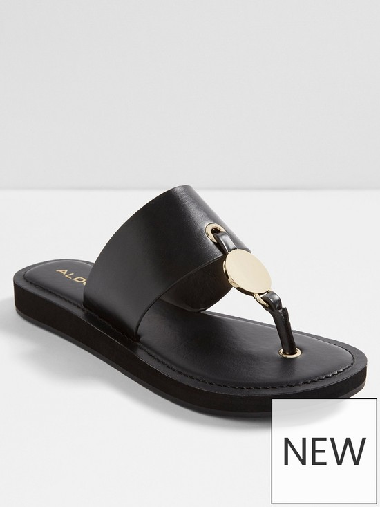 42e5caebfe934e Aldo Yilania Flip Flop Sandal - Black