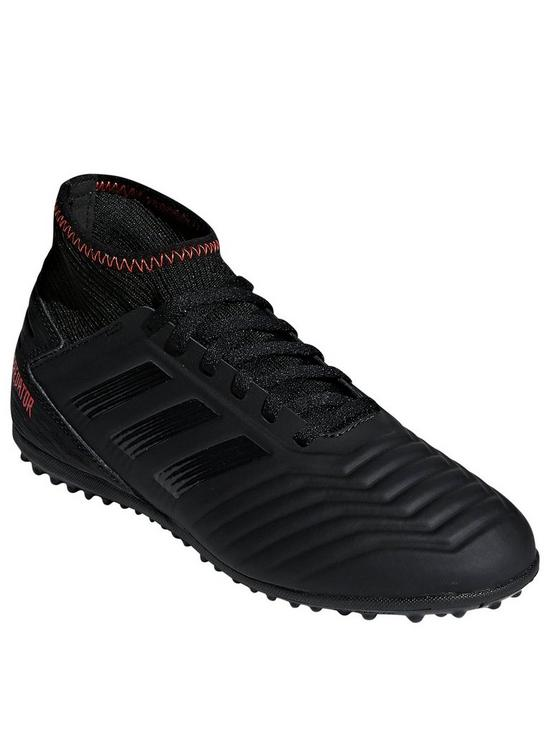 ee0c4bf9cd4e adidas Junior Predator 19.3 Astro Turf Football Boot - Black