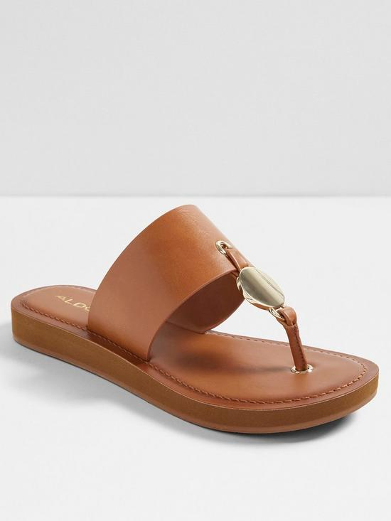 021ee91fa869e0 Aldo Yilania Flip Flop Sandal - Natural