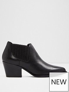 aldo-canedynbspleather-ankle-boots-black