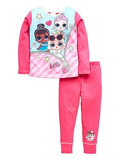 lol-surprise-girls-2-piece-pyjamanbspset-pink
