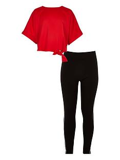 river-island-girls-red-tie-side-t-shirt-and-legging-outfit
