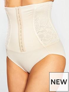 maidenform-firm-foundations-waist-nipper-brief-nude