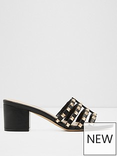 aldo-mireamma-studded-heeled-strappy-mules-black