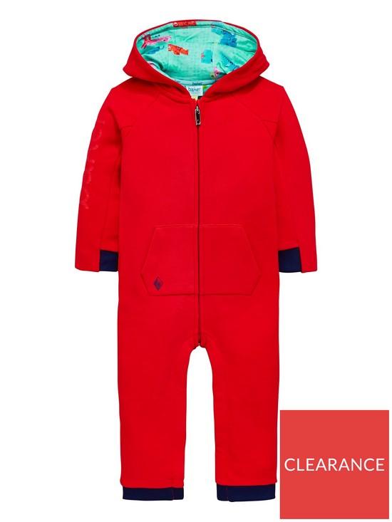 7796e3cec7c8 Baker by Ted Baker Baby Boys Back Baker Slogan Snuggle Suit