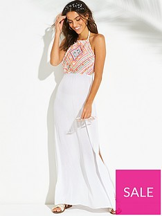 v-by-very-embellished-halter-maxi-beach-dress-white