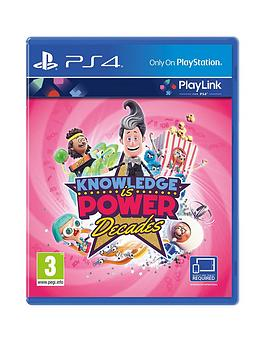 playstation-4-playlink-knowledge-is-power-decades-ps4