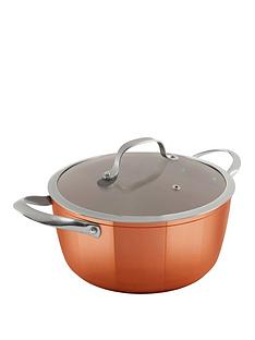 tower-24-cm-forged-casserole-pot-ndash-copper