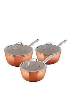 tower-3-piece-forged-saucepan-set-ndash-rose-gold