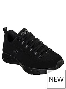 skechers-synergy-30-out-amp-about-bungee-lace-trainers-black